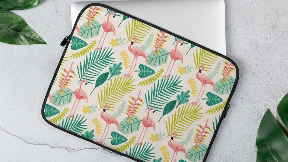 """""""Flamingo Cream"""" - Laptop Sleeve"""