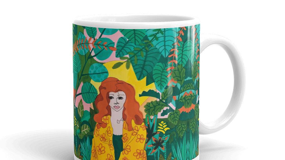 """""""Jungle meditation"""" - Mug"""
