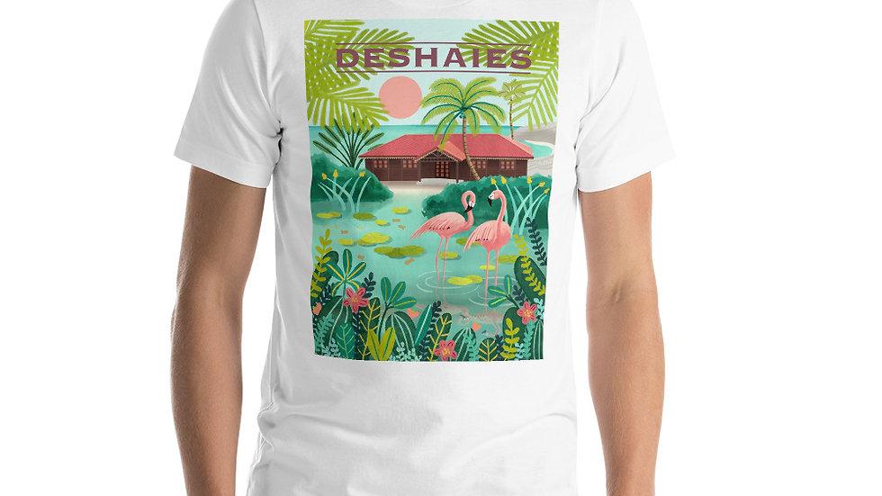 """Deshaies Tropical Garden"" - Men Photo T-Shirt"