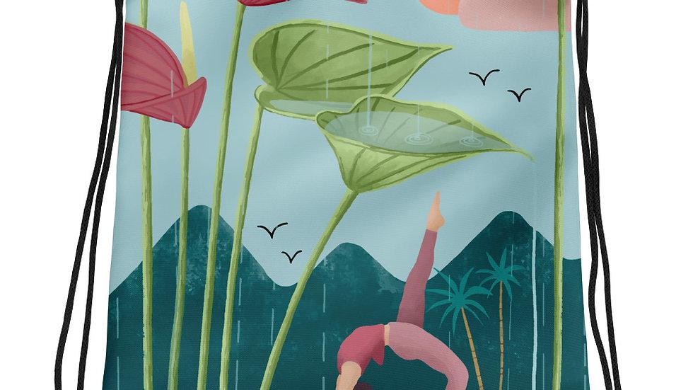 """Nature Yoga"" - Drawstring bag"