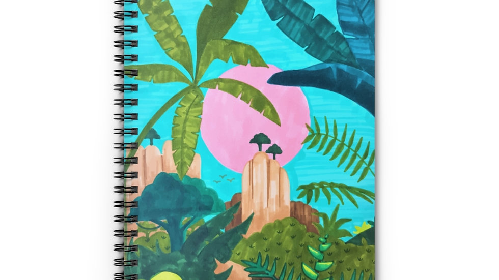 """Savana"" - Spiral Notebook"