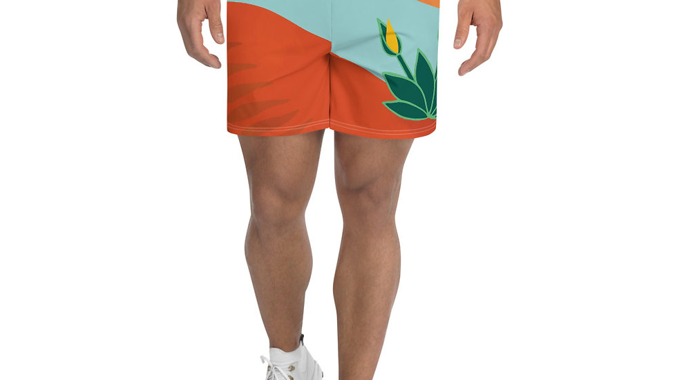 """Transition"" - Men's Athletic Long Shorts"