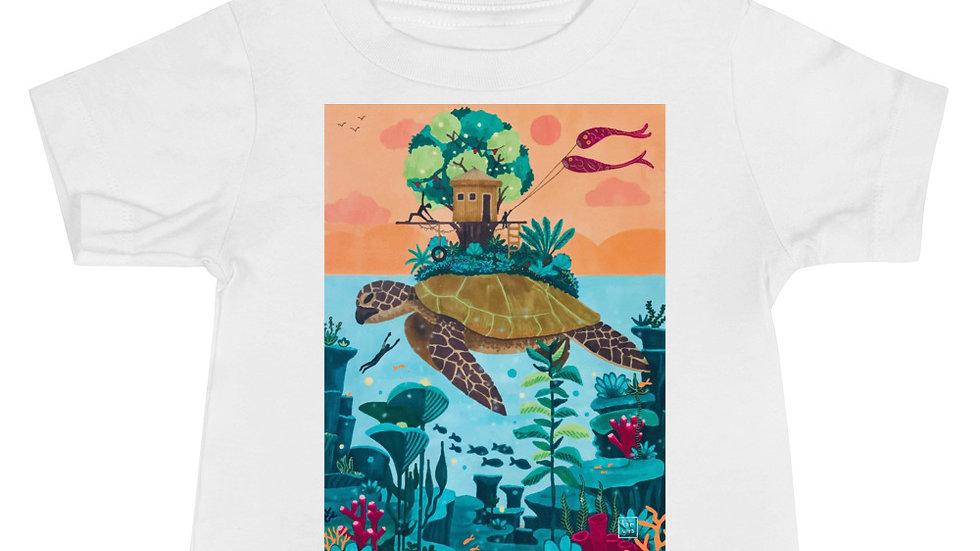 """Dream destination"" - Baby T-Shirt"
