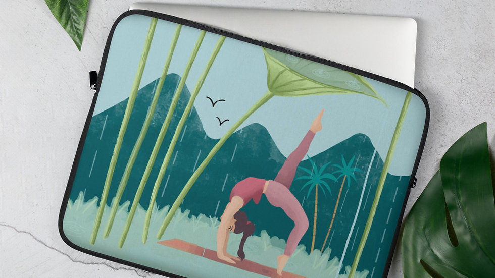 """Nature Yoga"" - Laptop Sleeve"