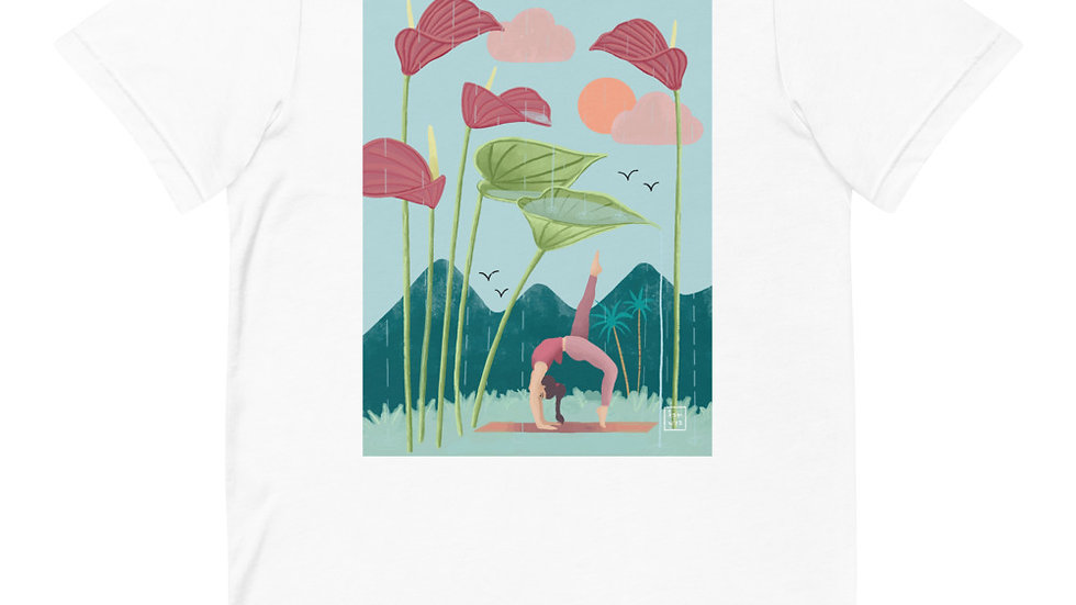 """Nature yoga"" - Women T-Shirt"
