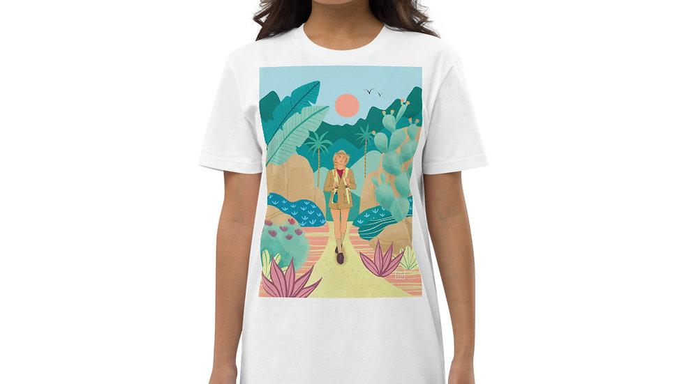 """Into the wild"" - Organic cotton t-shirt dress"