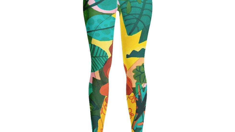 """Jungle meditation"" - Yoga Leggings"