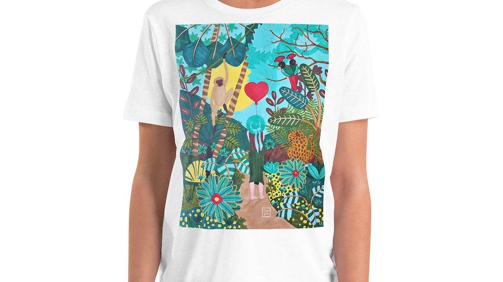 """She heart jungle"" - Youth T-Shirt"