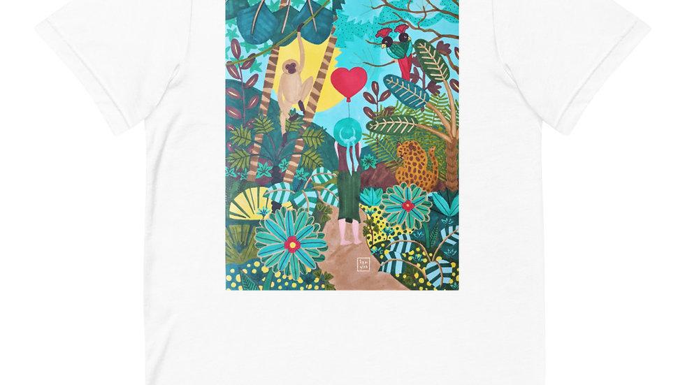"""""""She heart jungle"""" - Women T-Shirt"""