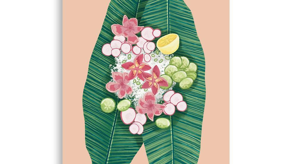 """""""Banana Leaf"""" - Poster"""