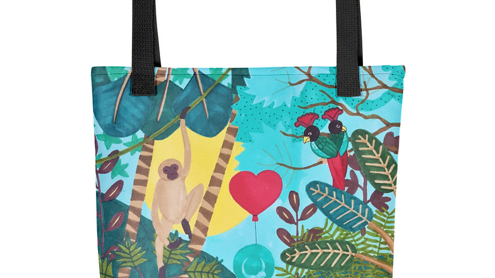 """She heart jungle"" - Tote bag"