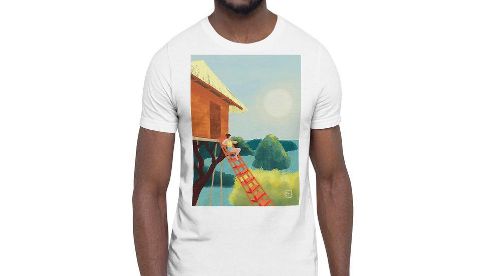 """Sunset in Bali"" - Men Photo T-Shirt"
