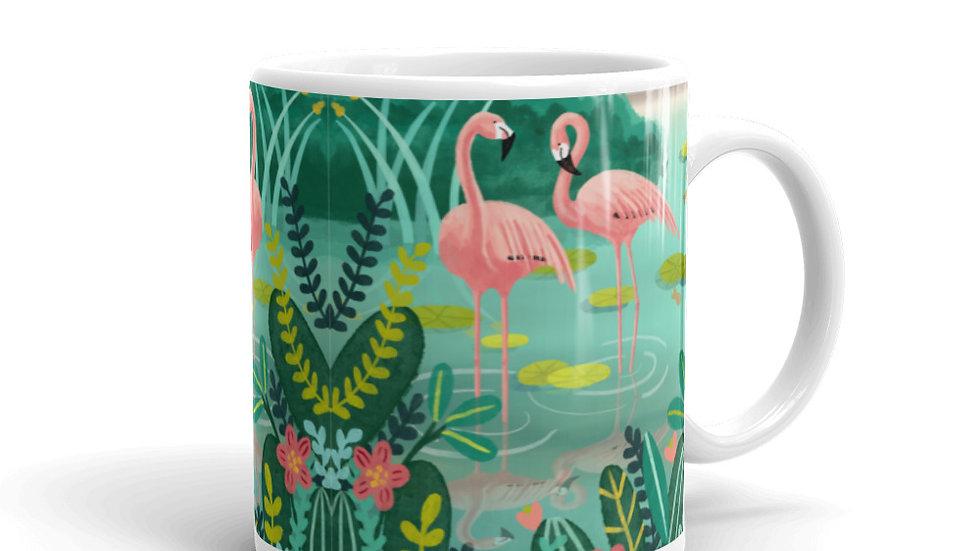 """""""Deshaies Tropical Garden"""" - Mug"""