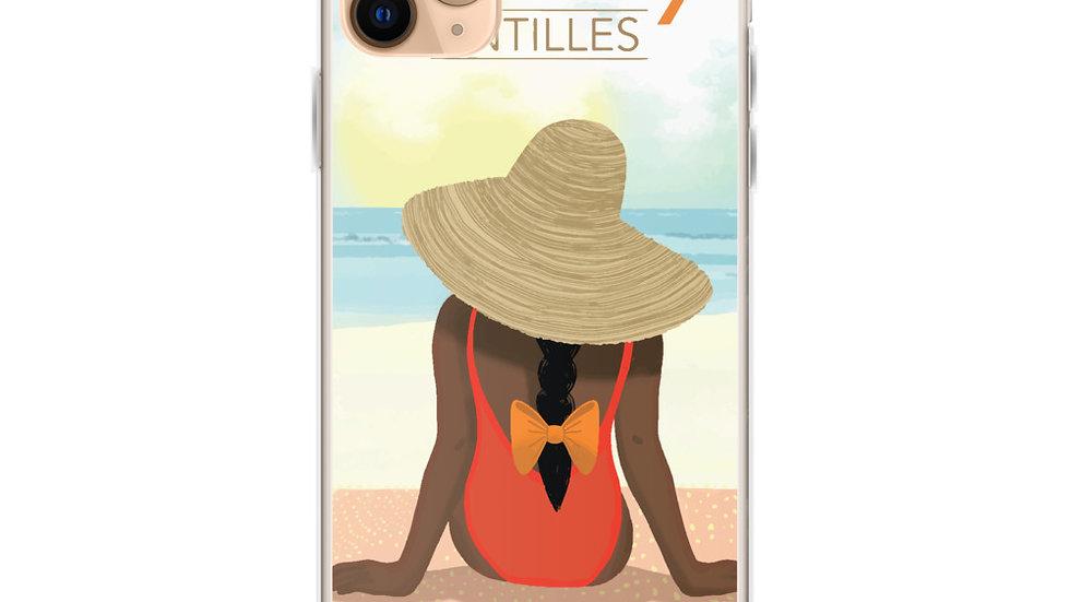 """Guadeloupe sunset white"" - iPhone Case"