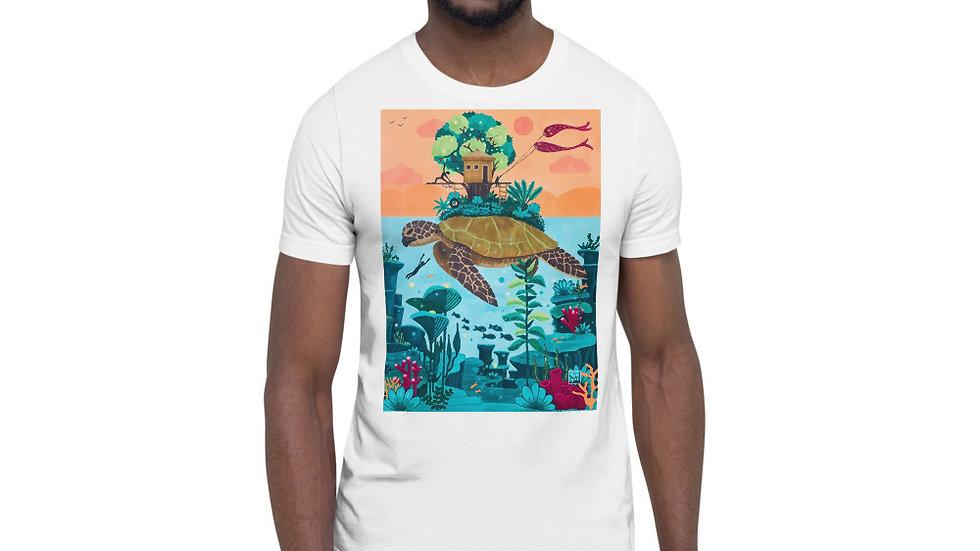 """Dream destination"" - Men Photo T-Shirt"