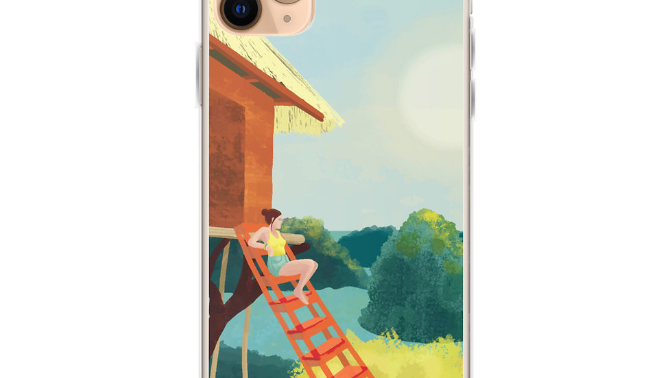 """Sunset in Bali"" - iPhone Case"