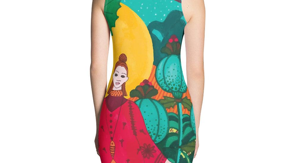 """""""Japanese garden"""" - Sexy Dress"""