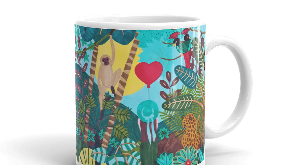 """She heart jungle"" - Mug"