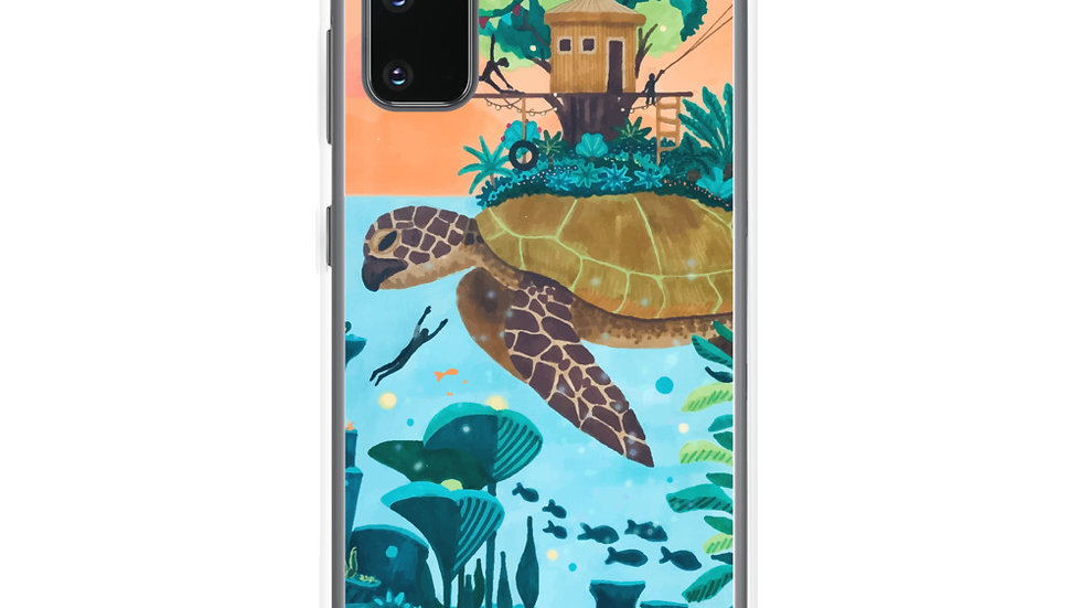 """Dream destination"" - Samsung Case"