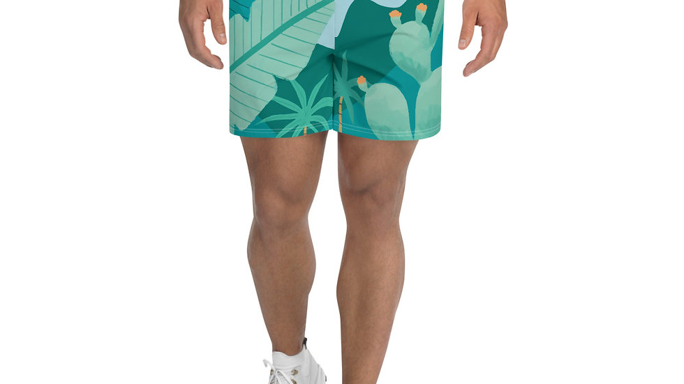 """Into the wild"" - Men's Athletic Long Shorts"