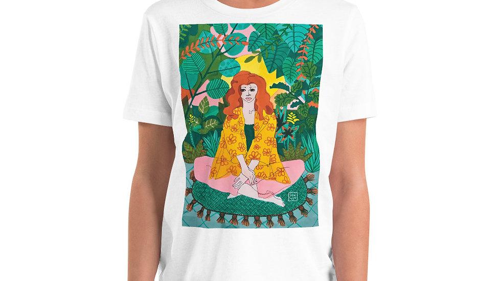 """Jungle meditation"" - Youth T-Shirt"