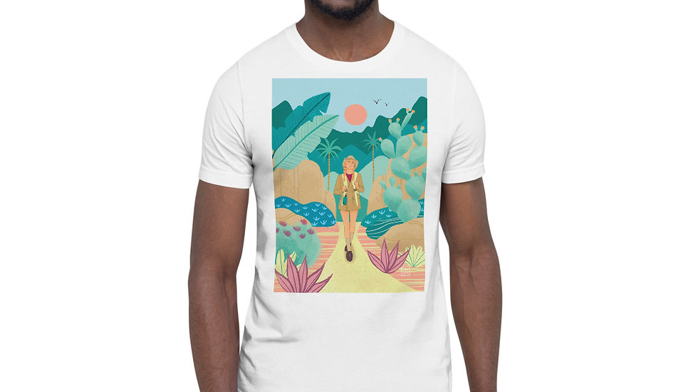 """Into the wild"" - Men Photo T-Shirt"