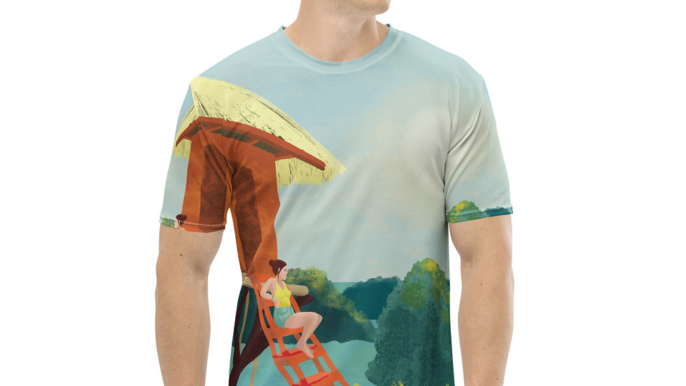 """Sunset in Bali"" - Men T-shirt"