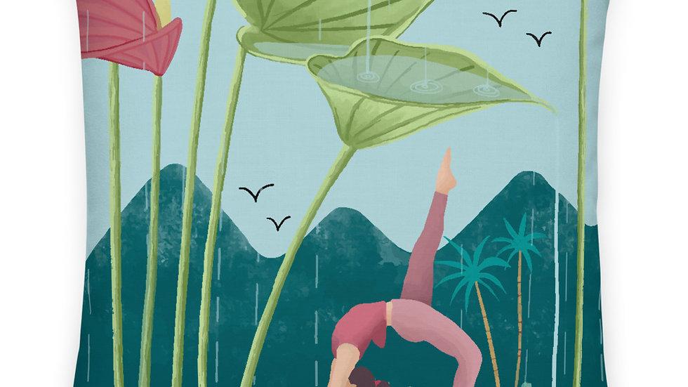 """""""Nature Yoga"""" - Premium Pillow"""