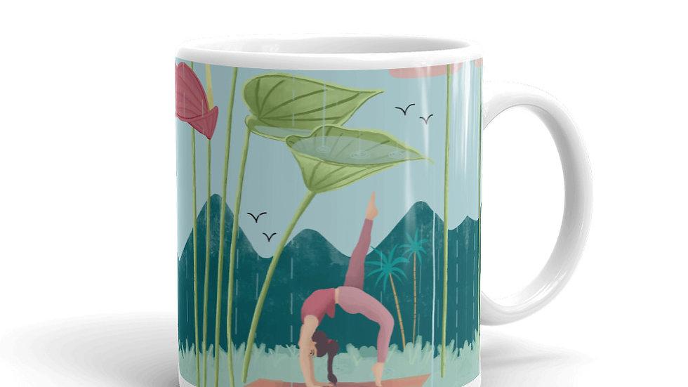 """Nature yoga"" - Mug"