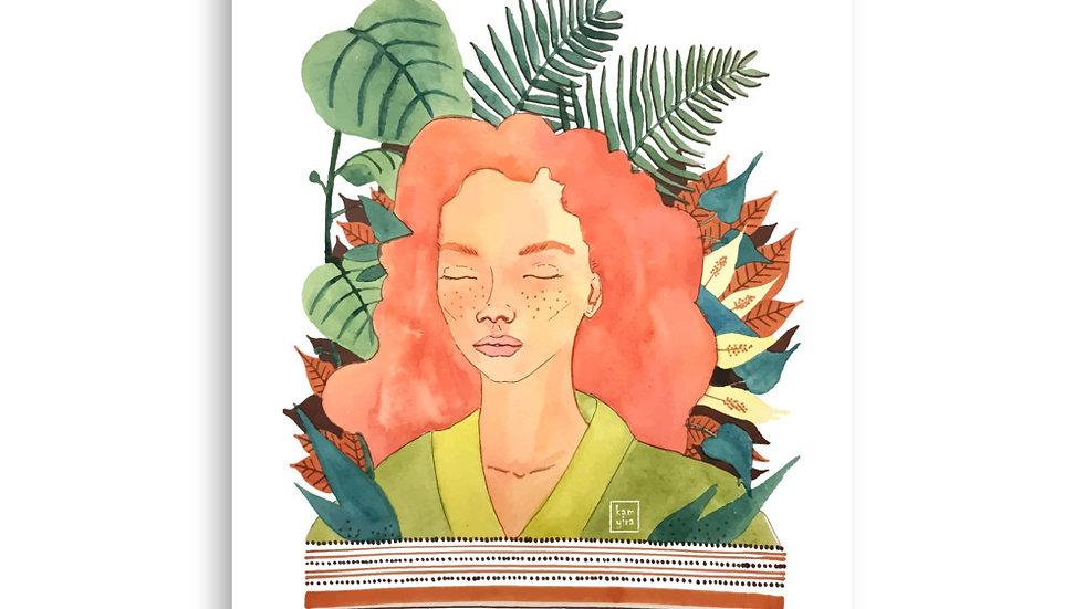 """Leaf Dream"" - Poster"