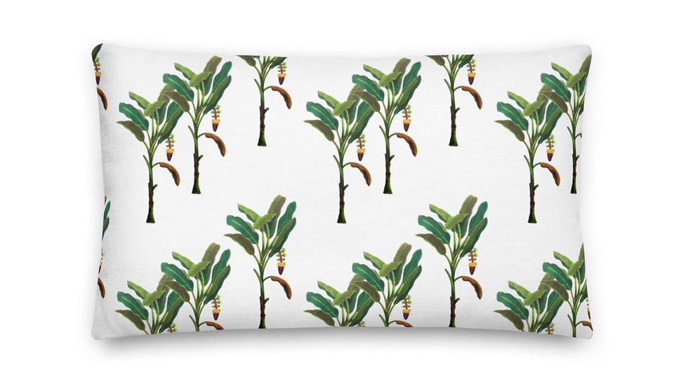 """Banana Tree"" - Premium Pillow"