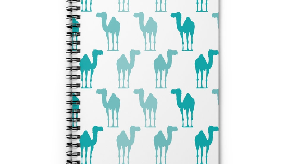 Camel Turquoise - Spiral Notebook