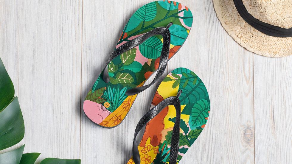 """Jungle meditation"" - Flip-Flops"