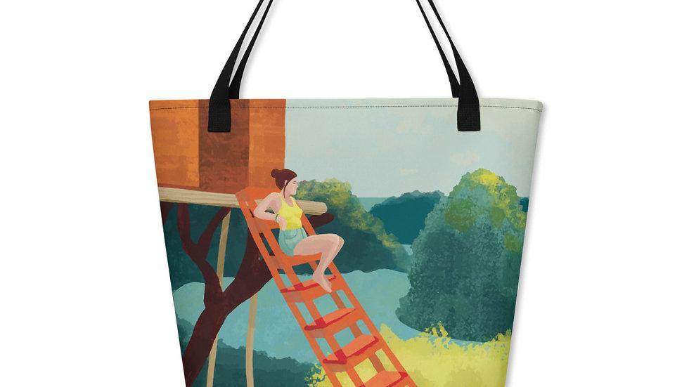 """""""Sunset in Bali"""" - Beach Bag"""