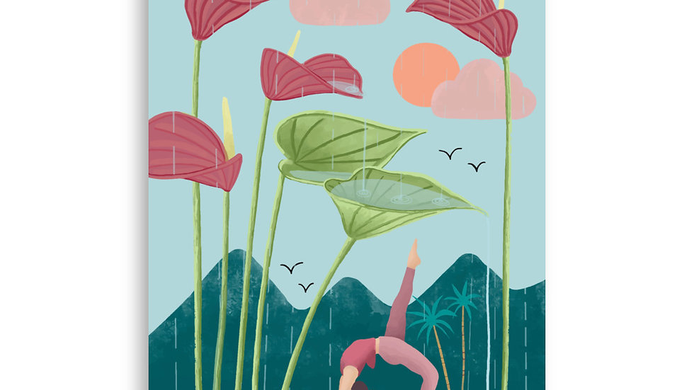 """Nature Yoga"" - Art Print"
