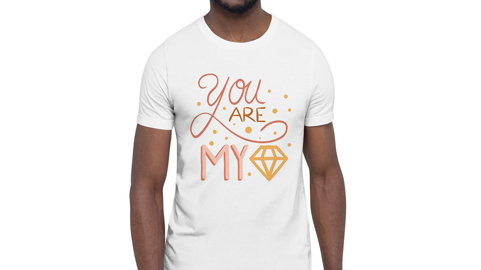 """You are my diamond"" - Men T-Shirt"