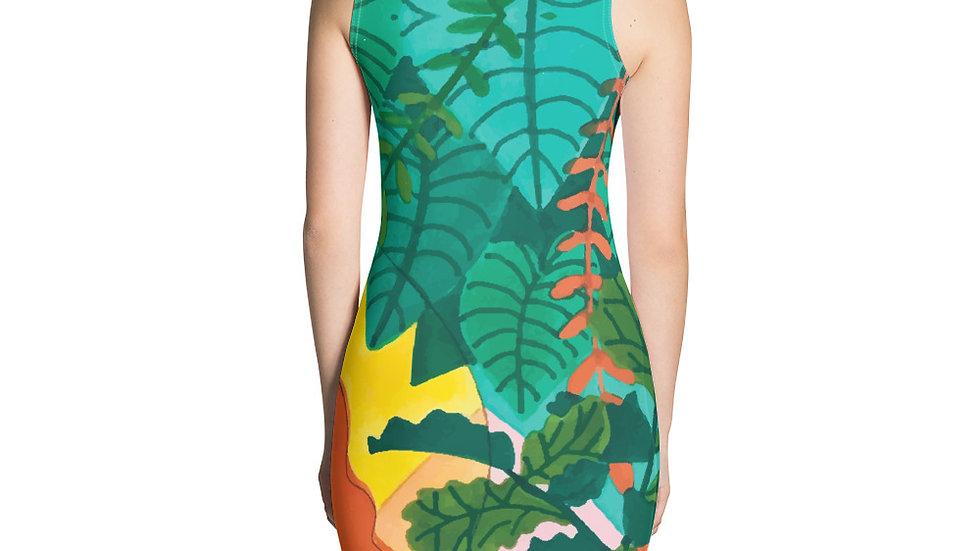 """Jungle meditation"" - Sexy Dress"