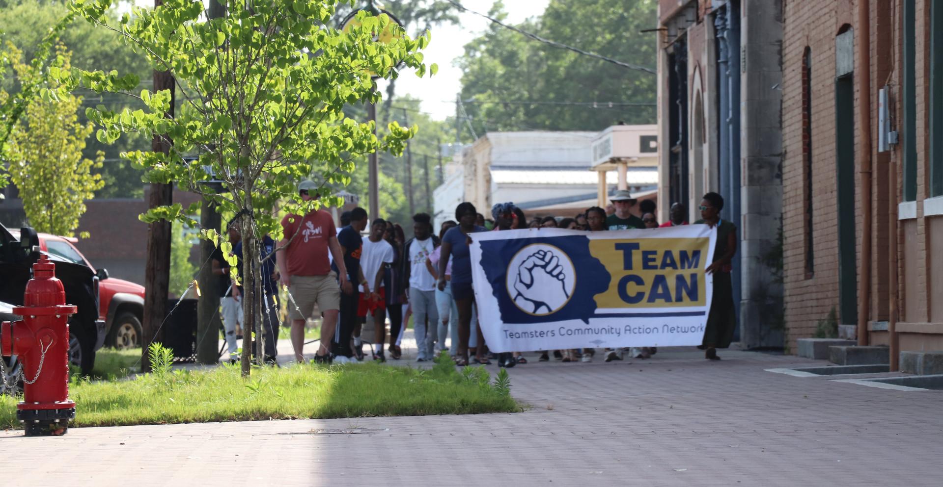 TeamCAN in Selma
