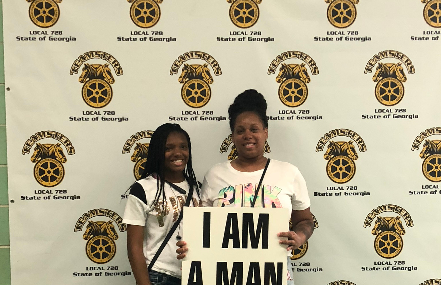 At the Teamster Local 728 Hall - Atlanta