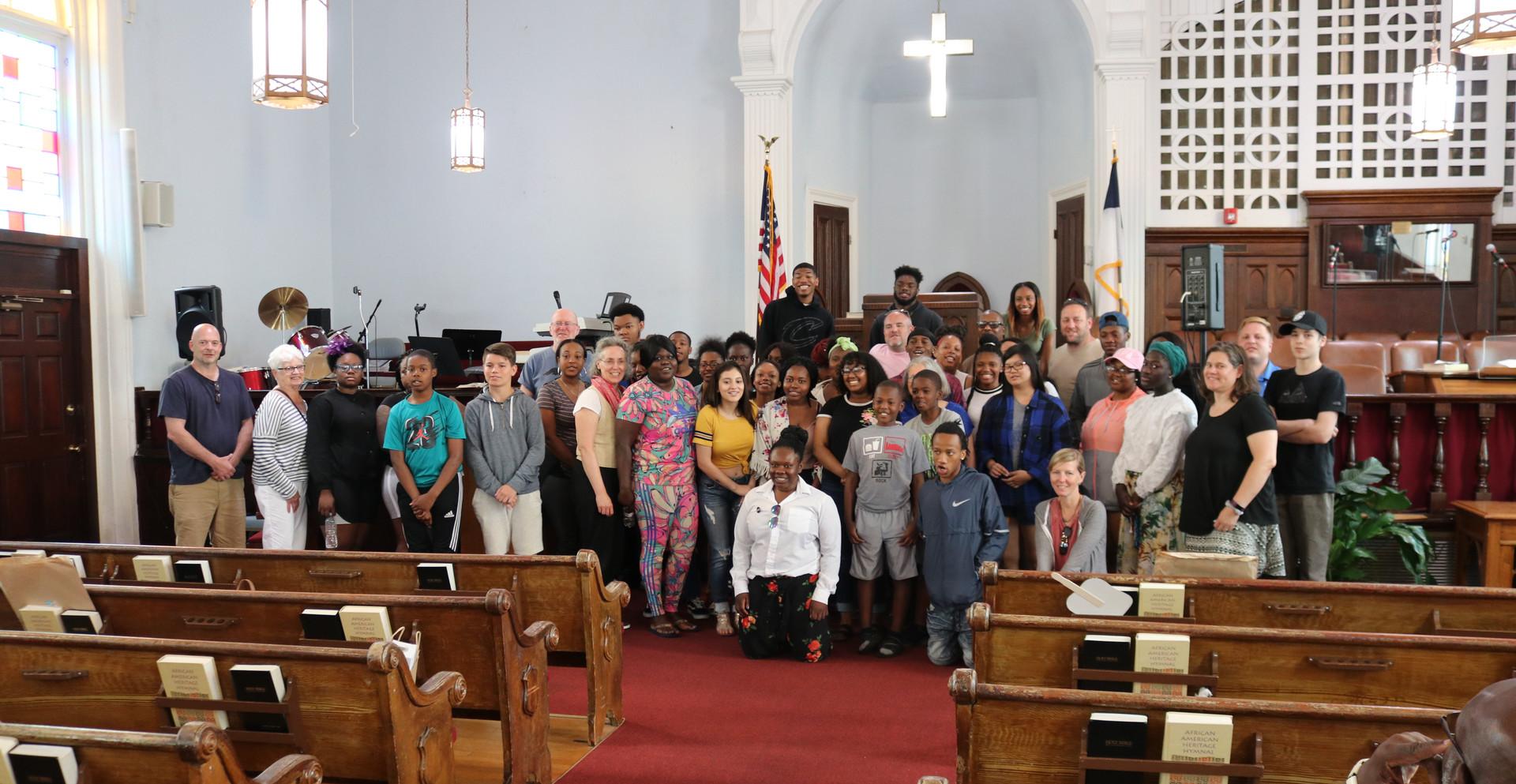 Dexter Street Baptist Church Group Photo