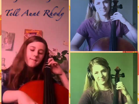 12 Year-Old Giulia Plays Cello