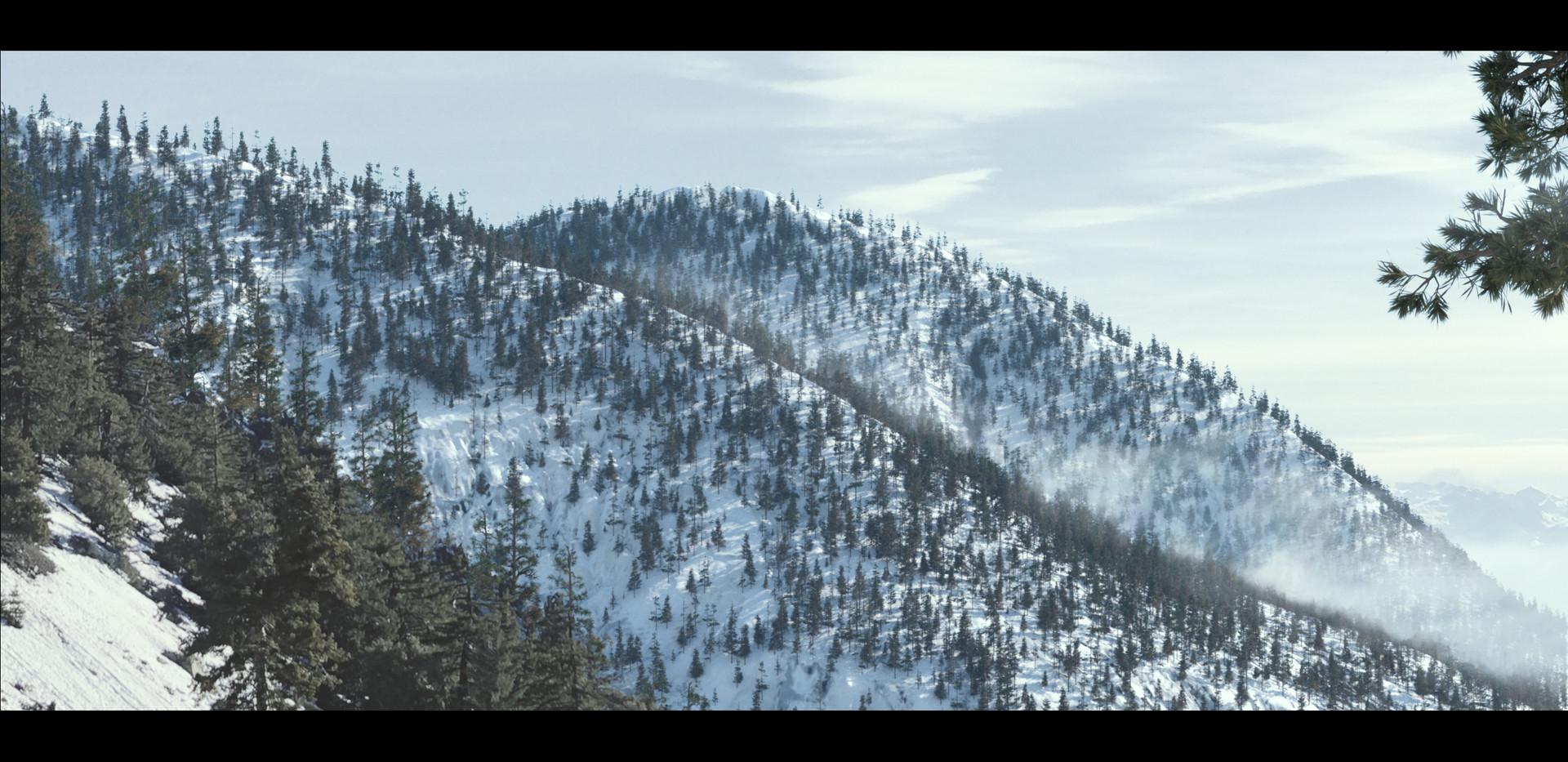 Fog at Mt. Baldy