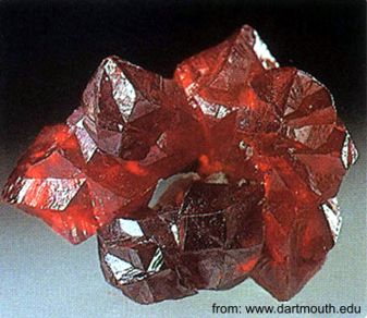 Cinóber ásvány