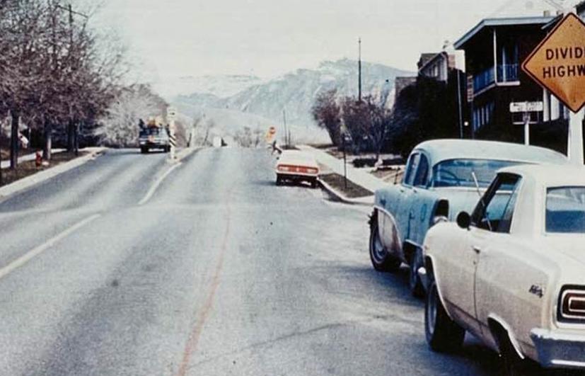 """Gianni Pettena, """"45 Miles Red Line (Following the City Limits)"""", 1972, © FRAC Centre-Val de Loire"""