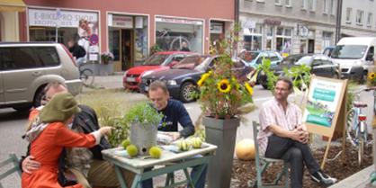 Évènement Parking day, 2014, © Bioaddict