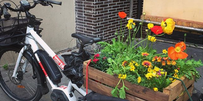 Coopérative, Les jardiniers à vélo, © Les jardiniers à vélo