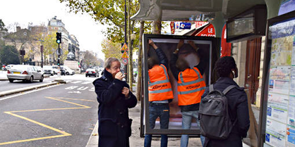Collectif Brandalism, VS COP21, Paris, 2016, © Brandalism