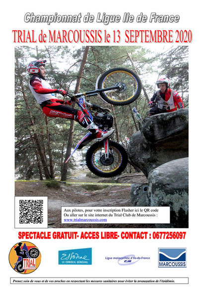 TRIAL MARCOUSSIS 13.09.2020 - QR Code in