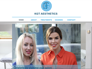 Beauty Therapist website.....KGT Aesthetics