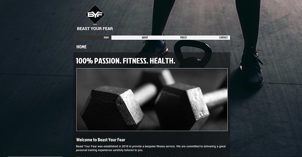Beast Your Fear website